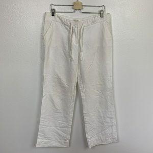J. Crew Pants White Sz: 10